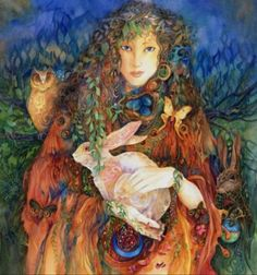 Ostara was the Anglo-Saxon goddess of the dawn, from whom East (where the sun rises) and Easter got their names. She is remembered at the spring and vernal equinoxes when the days and nights are of equal length.