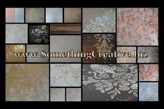 Decorative Finishes by www.SomethingCreative.biz