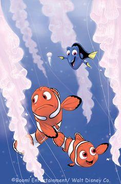 Finding Nemo fan art.