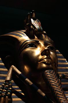 New computed tomography scans revealed that mummies including that of King Tut (shown here) showed signs of having diffuse idiopathic skeletal hyperostosis, marked by hardening of ligaments attached to the spine.