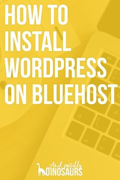 If you have web hosting with Bluehost, and you want to use the best blogging platform around, then you want to take advantage of Bluehost WordPress Installation - http://www.ilanelanzen.com/how-tos/5-easy-steps-to-install-wordpress-through-bluehost/