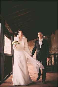 Winter Wedding at Chateau De Montrouge | Image by Sophie Reynaud