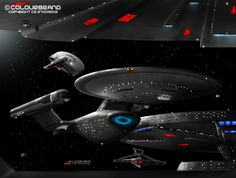 After being away from Star Trek ships in general I decided, also after watching *Colourbrand's work, to start on a TMP era starship. Star Trek Show, Star Trek Movies, Star Wars, Science Fiction, Starfleet Ships, Starship Concept, Star Trek Images, Man Cave Art, Star Trek Beyond
