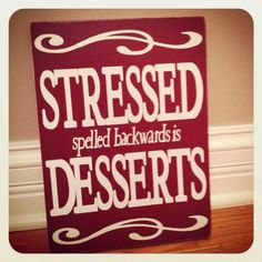 Kitchen Sign - gift www.facebook.com/ahappyhomedesign