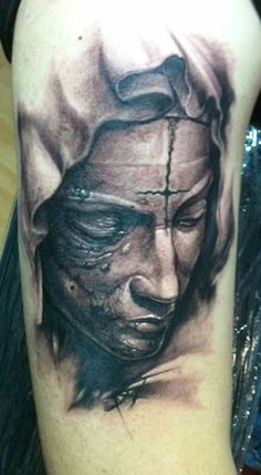 Tattoo Artist - Tommy Lee Wendtner - religious tattoo