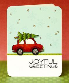 Joyful Greetings Card by @Jennifer McGuire #HeroArts