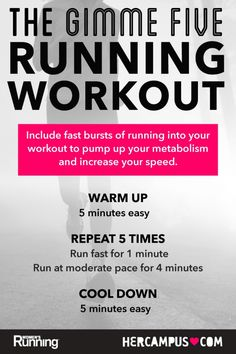 Ease Into Interval Training with the 'Gimme Five' Running Workout!
