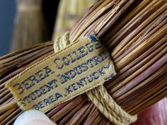 Vintage Berea College Student Craft Industries Broom Naiveprimitive Bereacollege Berea