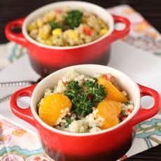 Feta Mandarin Asian #Quinoa Salad Recipe