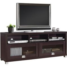 online shopping for Techni Mobili Durbin TV Cabinet TVs 65 , Espresso from top store. See new offer for Techni Mobili Durbin TV Cabinet TVs 65 , Espresso Decor, Furniture, Espresso Living Room Furniture, Room, Living Room Sets, Tv Media Stands, Home Entertainment Furniture, Home Decor, Home Decor Furniture
