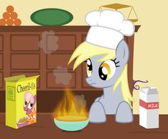 Derpy Cooking My Little Pony