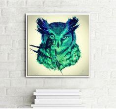 Diy Diamond Painting Cross Stitch 5D Full Round Handcraft Embroidery owl Animals Tiger Arts Needlework Mosaic Kit