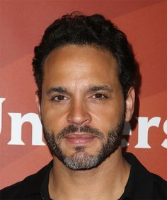 Daniel Sunjata Hairstyle - Short Wavy Casual - Black