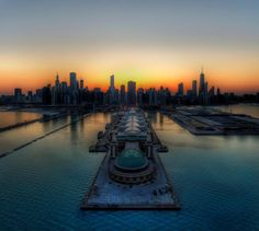 The Sizzling Chicago Skyline