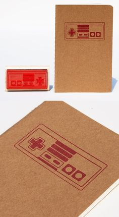 NES Moleskine Notebook // 50 Winning Gifts for Gamers