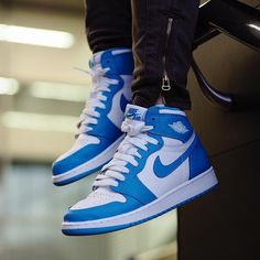 19b084ea783 Air Jordan 1 Retro UNC #nike #shopping #sneakers #shoes #basketballshoes  #airjordan #retro #sneakerhead