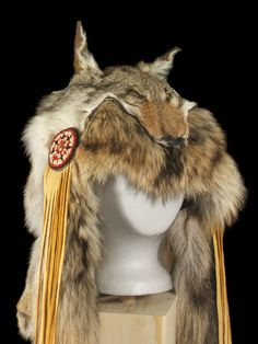 Coyote-Shaman-Indian-Headdress                                                                                                                                                      More