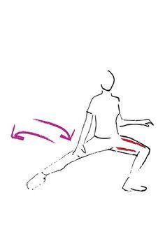 Übung für die Oberschenkel - Die besten Bauch-Beine-Po-Übungen - Diese Übung ist super für Ihre Oberschenkel, ganz besonders für die Innenseiten. Übung: Spreizen Sie Ihre Beine etwas mehr als hüftbreit, die Füße stehen fest auf dem Boden...