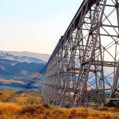 Railroad across the Snake River Eastern, WA 08/15