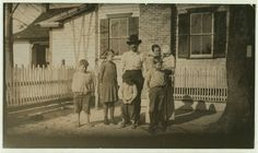 John Paulk and family. One of the most prosperous farmers in the district. See report of Lewis W. Hine on Georgia, March, 1915. Location: Kirkland, Georgia.