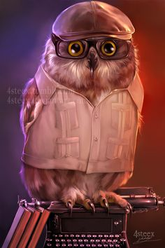 commission: turn me into an owl by 4steex.deviantart.com on @DeviantArt
