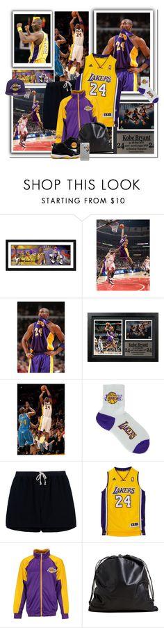 """Kobe Bryant Last Game"" by tiffanyelinor ❤ liked on Polyvore featuring For Bare Feet, Rick Owens, Majestic, TSATSAS, Lakers, kobebryant and goodbyekobe"