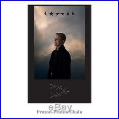 David Bowie Blackstar Clear Vinyl LP plus set of 3 Lithographic prints