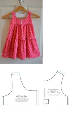 Best 12 Baby Dress Patterns, Sewing For Kids, Baby Sewing, Baby Born, Diy For Gi… - Baby Dresses Baby Girl Dress Patterns, Baby Clothes Patterns, Sewing Patterns For Kids, Dress Sewing Patterns, Clothing Patterns, Skirt Patterns, Coat Patterns, Blouse Patterns, Knitting Patterns