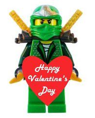 Free Printable Lego Valentine's Day Figures! LOVE!!