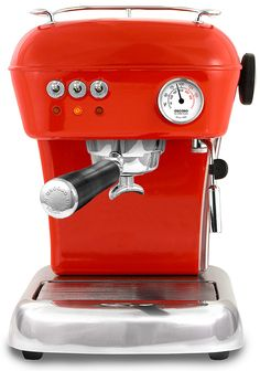 Yes, please. The Ascaso Dream espresso coffee machine, designed by Marc Aranyó, provides a professional quality extraction and versatility to offer varieties of coffee (espresso, medium, large) as well as cappuccino and other latte varieties.
