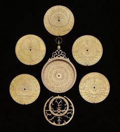 astrolabe 1641 lahore.