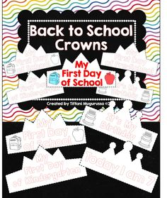 Perfect way to celebrate the first day of school or a student birthday!
