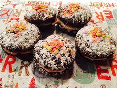 weihnachtliche-whoopies-beitrag Muffin, Breakfast, Desserts, Diy, Food, Birthdays, Dessert Ideas, Simple, Food Food