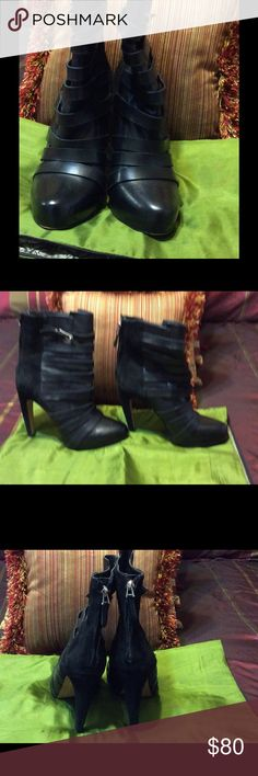 Sam Edelman Blk Leather Boot SZ8. $80 Slightly used but great condition. Sam Edelman Shoes Ankle Boots & Booties