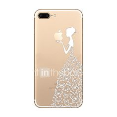 Cover iPhone 8 Plus Silicone Morbido TPU Case Back Cover Ultra