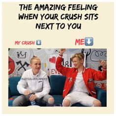 When the crush Marcus Gunnarsen is then yesss ❤️😂 When Your Crush, My Crush, Keep Calm And Love, My Love, Normal Person, Messages, True Love, My Dream, Crushes