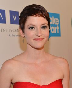 Chyler Leigh Hair - If I ever built up the courage to do this, who knows what else I would do!
