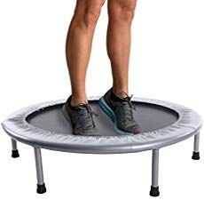 30 tension bands provide a safe, quiet, and supportive bounce. The safety pad covers the bands to keep you bouncing safely. FREE ONLINE WORKOUTS: Get the most out of your trampoline with 3 online workout videos. Kids Trampoline, Rebounder Trampoline, Trampoline Workout, Fitness Trampoline, Fun Workouts, At Home Workouts, Trampoline Reviews, Trampolines For Sale, Silent E