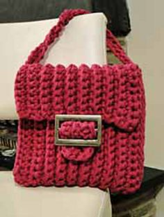 Ravelry: Zpagetti bag Framble pattern by Carla Haak at Home