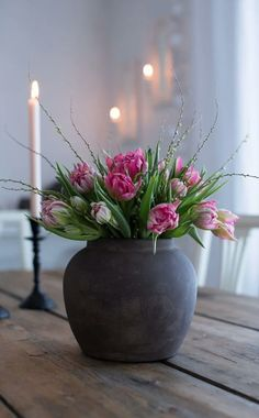 Deco Floral, Arte Floral, Beautiful Flower Arrangements, Floral Arrangements, Faux Flowers, Beautiful Flowers, Flower Vases, Flower Pots, Flower Decorations