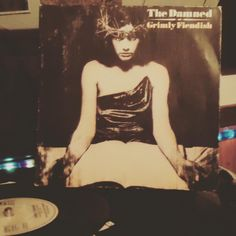 ...feeling fiendish! #grimlyfiendish #thedamned #vinyl #single #record #nowspinning #goth #bands…""