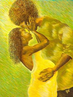 Contributing to Black Art in America, Reflecting a Way of Life, Colorfully Celebrating with Images of Life's Experiences. Fine Art and Prints. African American Art, African Art, Natural Hair Art, Black Love Art, Brown Art, Afro Art, We Are The World, Dope Art, Mellow Yellow