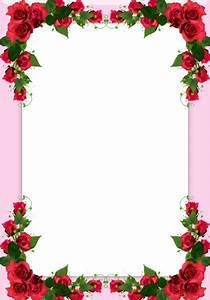 Rose Flower Border Design For Front Page Yahoo India Image Search Results Flower Border Clipart Flower Border Flower Frame