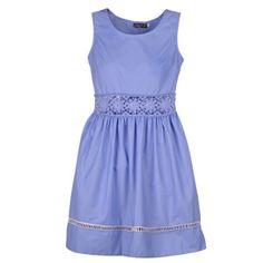 Quality Crewneck Sleeveless Aboveknee Vintage Crochet Waist Dress 2P ** Visit the image link more details.