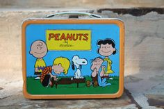 Vintage 1970s Peanuts Lunch Box by caroljackson365 on Etsy, $24.00
