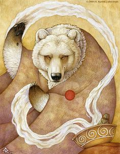 Healing Bear by kyoht.deviantart.com on @deviantART