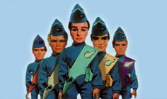Image result for thunderbirds original toys puppets