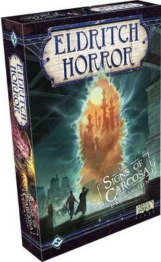 Eldritch Horror - Signs of Carcose from Fantasy Flight!