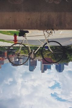#Nashville, upside down. #commuter