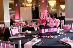 unique table centerpieces   Purses, shoes, Oh my!- Featured Friday – So Simply Special